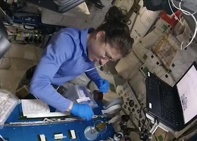 Astronaut Christine Koch